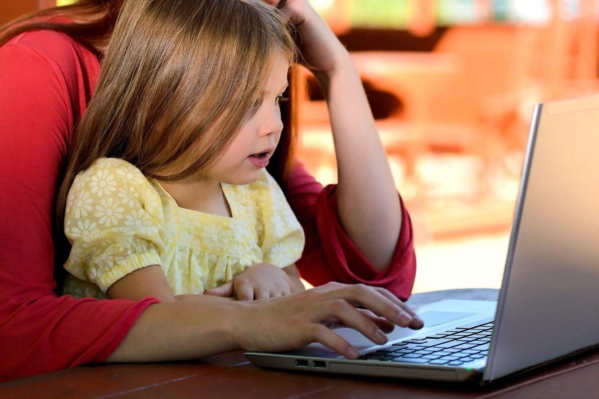 子供のオンライン学習