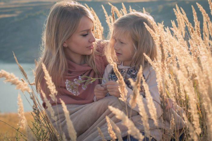お母さんと子供で英会話